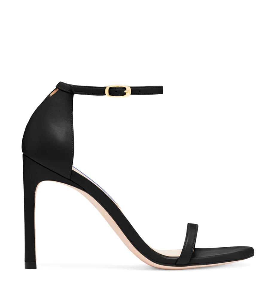 Stuart Weitzman, black sandals