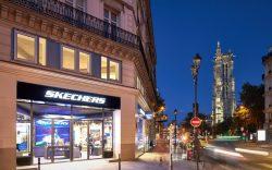 Skechers store Rue de Rivoli Paris