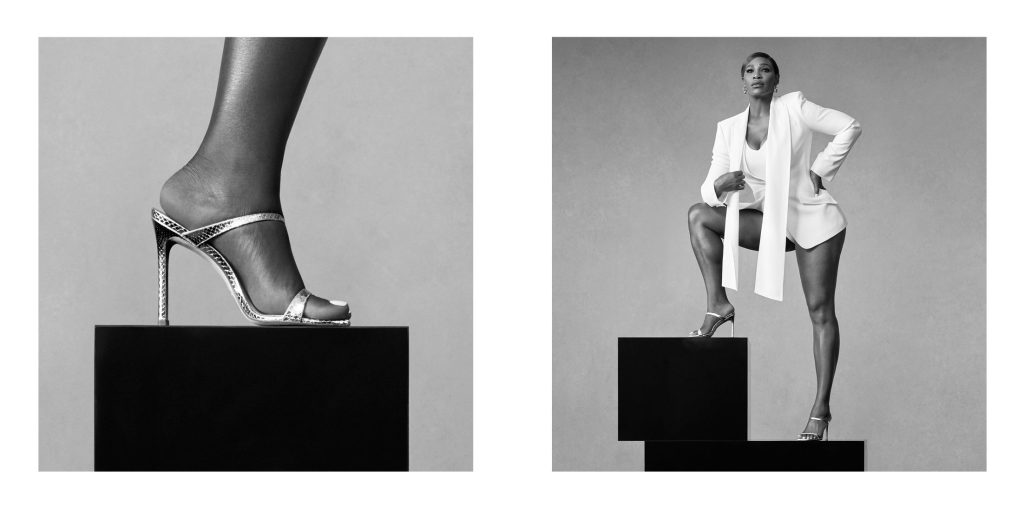 Serena Williams, Stuart Weitzman campaign