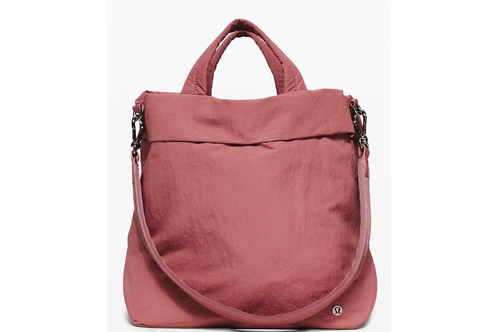 lululemon tote, on my level tote, tote bag