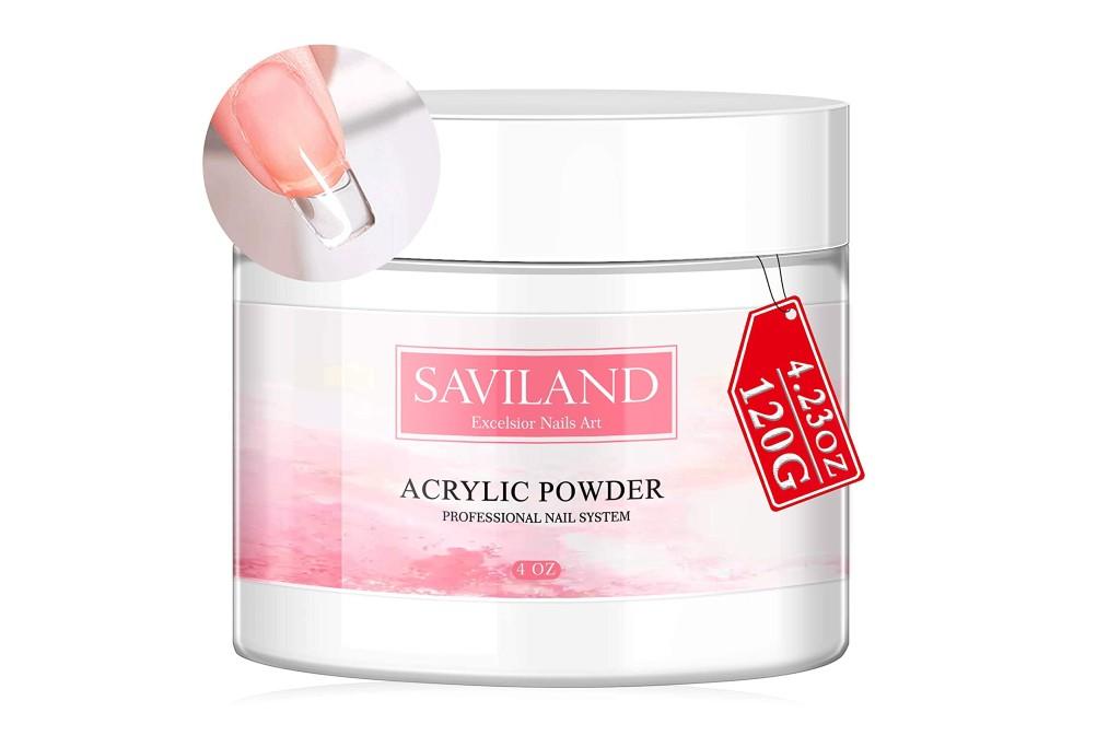 Saviland Clear Acrylic Powder, acrylic powder