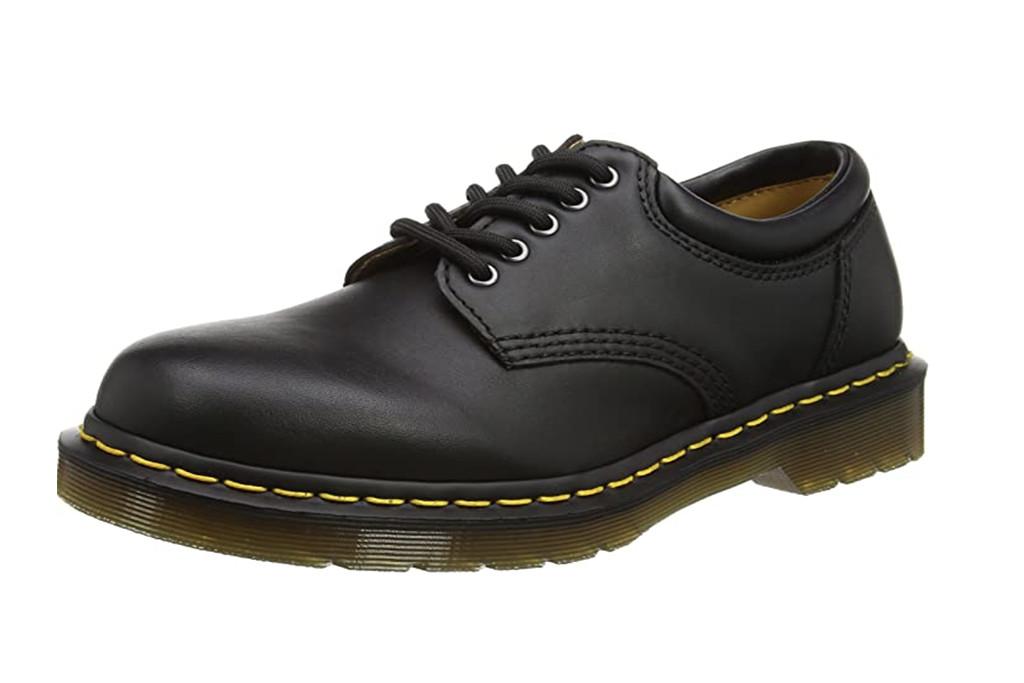 lowrise dr. martens, dr. marten boots, black leather oxfords