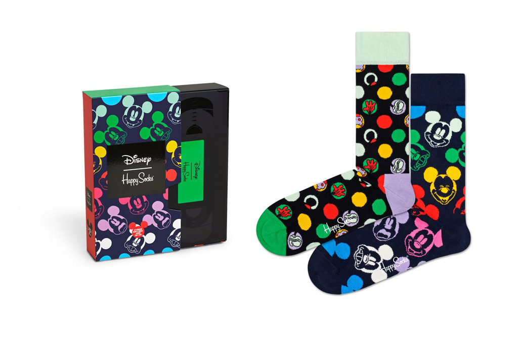 happy socks x disney, 80s inspired socks, happy socks