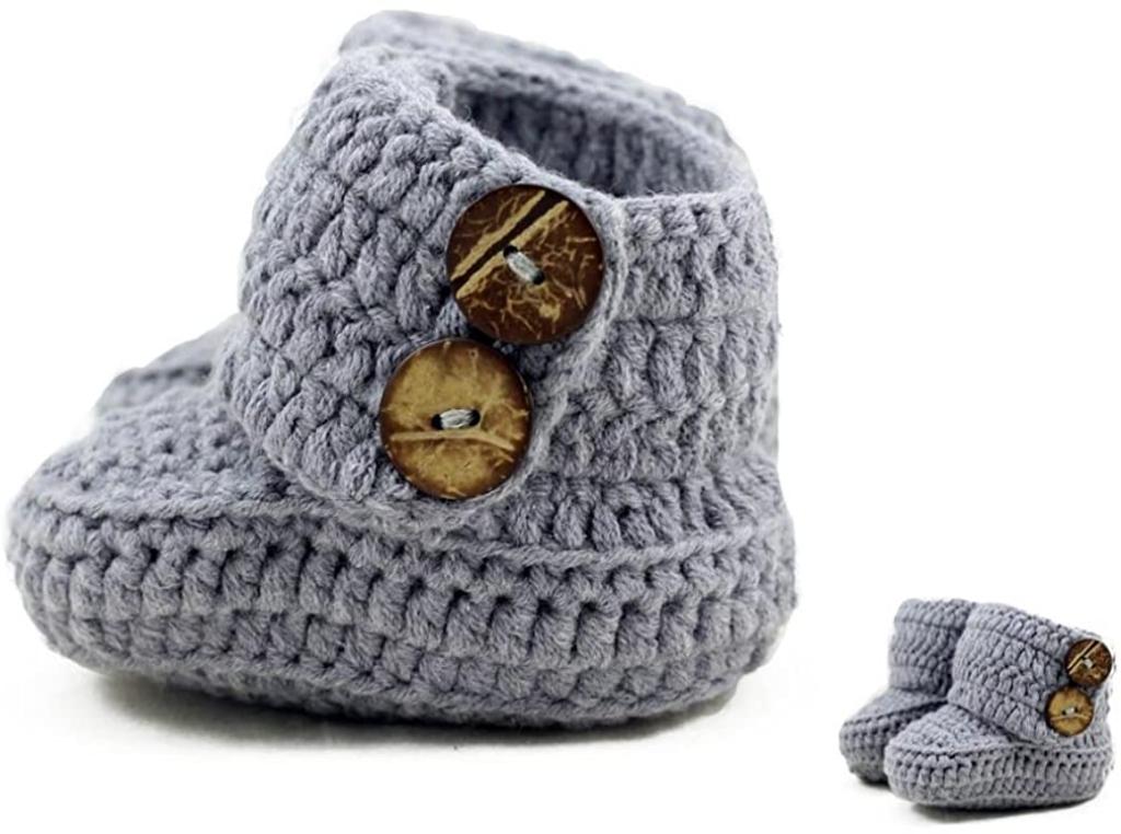 Zefen Crochet Baby Booties