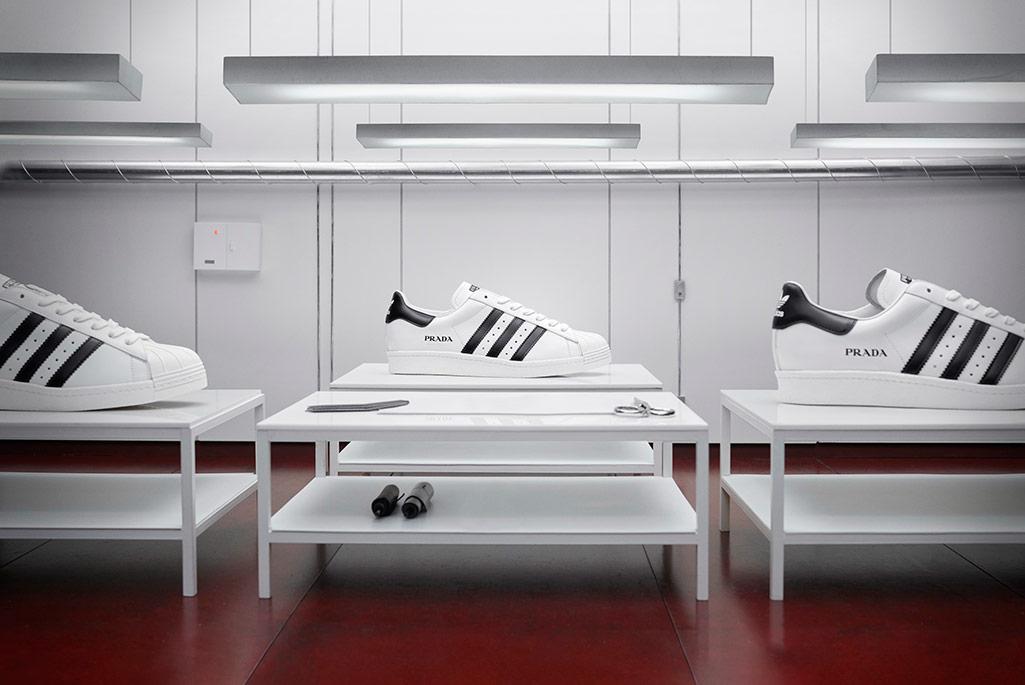Prada X Adidas Superstar, second drop.