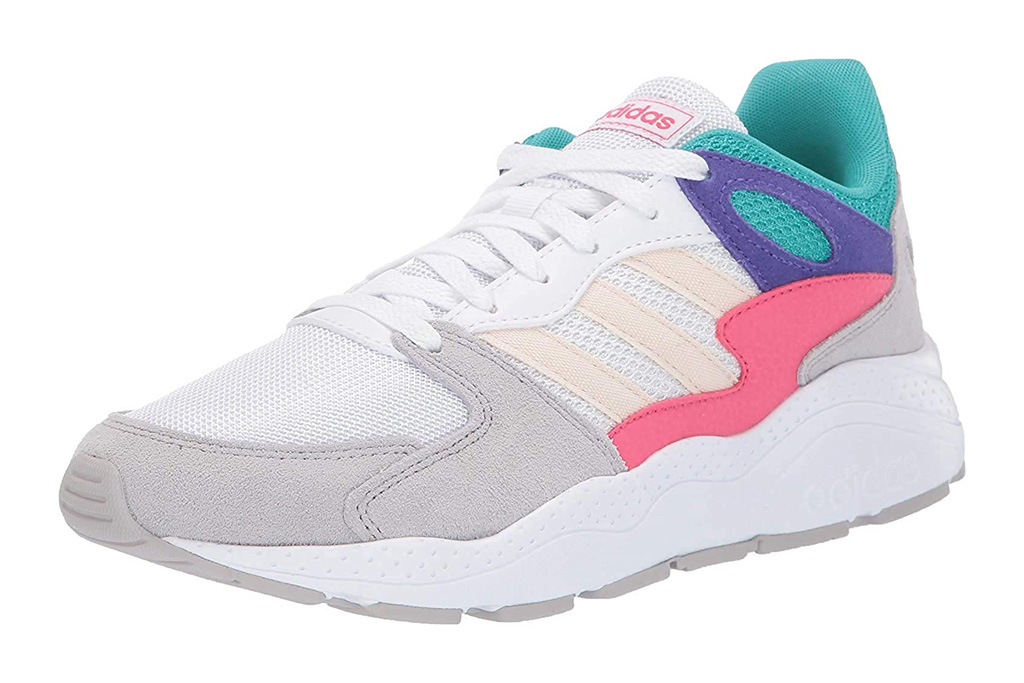 adidas, chunky, platform colorful