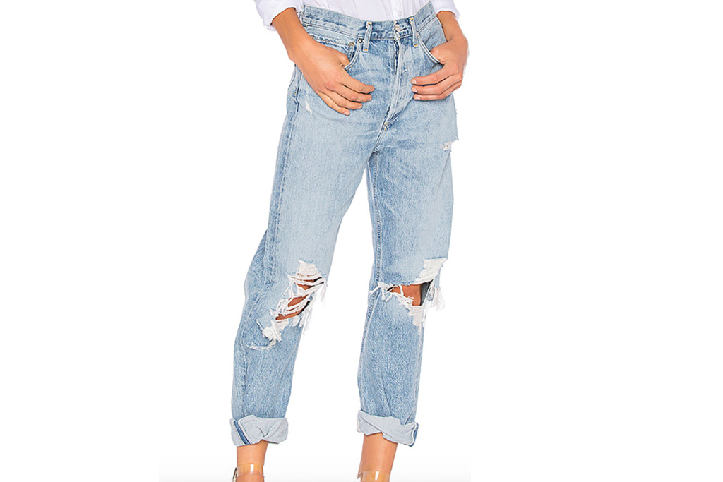 agolde, ripped jeans, jeans