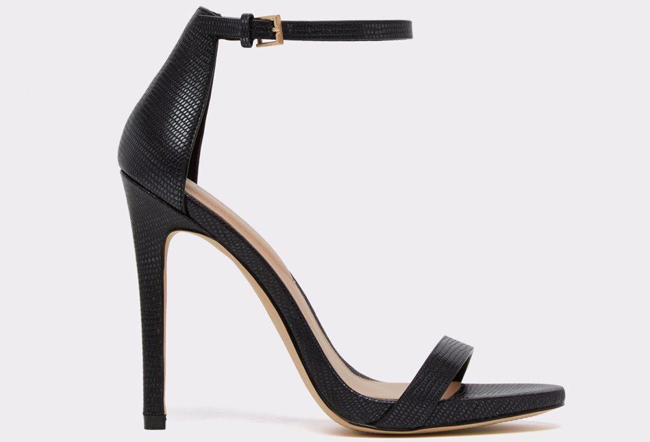 aldo, sandals, black, strappy