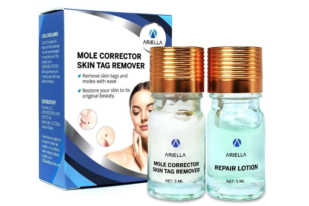 Ariella Mole and Skin Tag Remover and Repair Lotion Set
