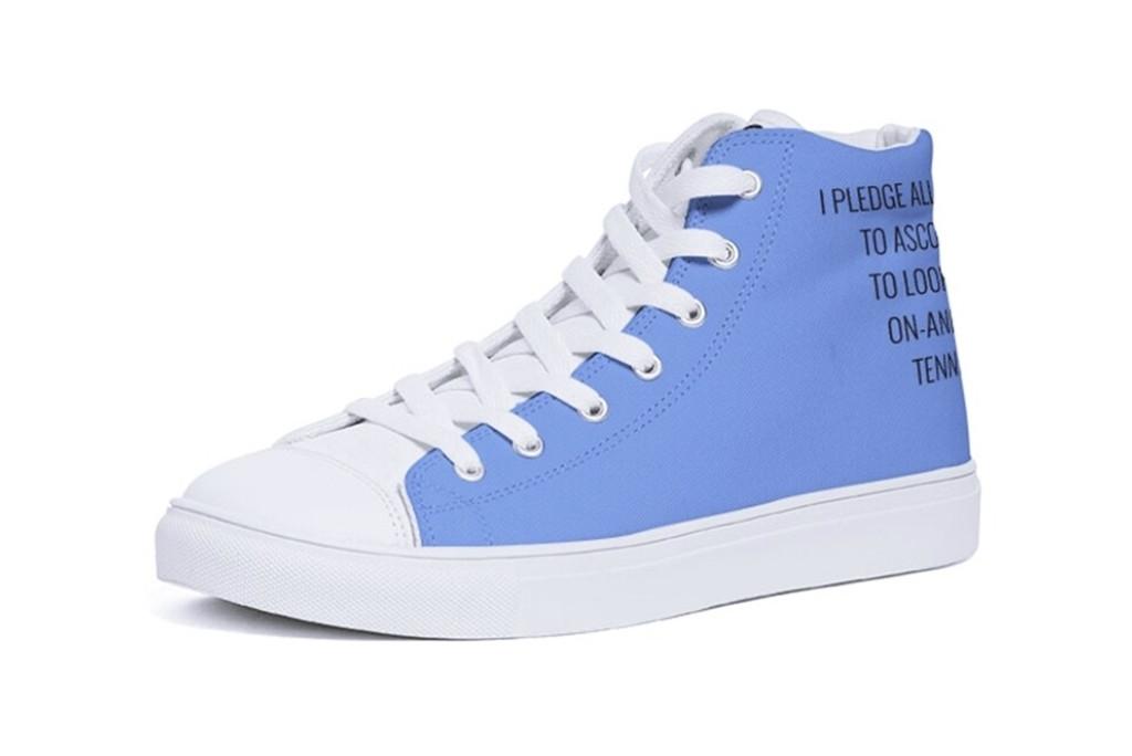 ascot manor high top, ascot manor sneaker, ascot manor new horizons sneaker