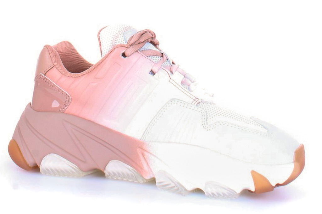 sneakers, ash, chunky, two tone