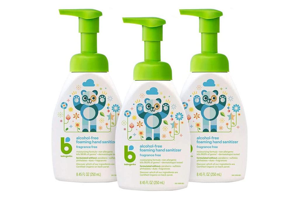 hand sanitizer, sale, amazon, shop, babyganics