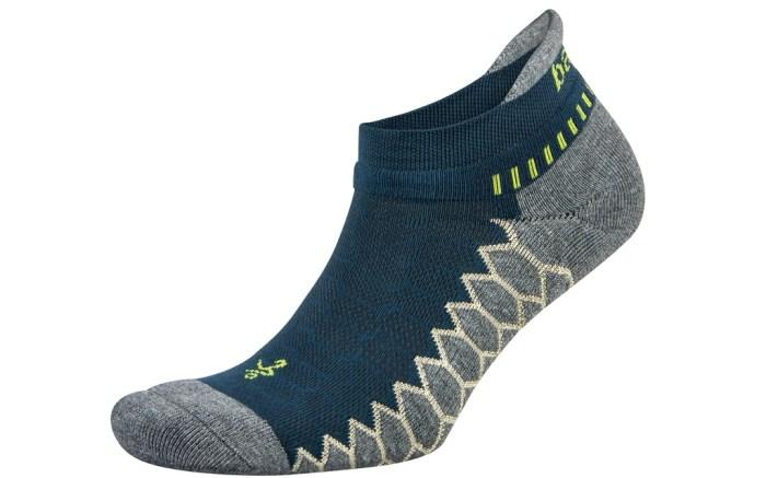 Balega Silver Antimicrobial No-Show Compression-Fit Running Socks