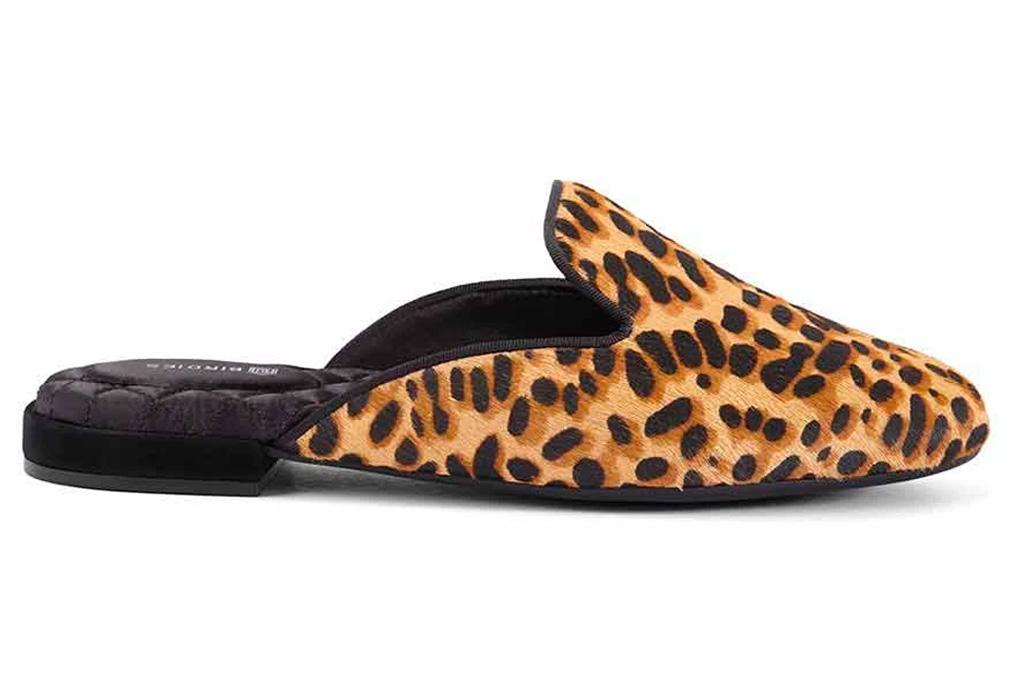 cheetah, flat, mule, shoes, birdies