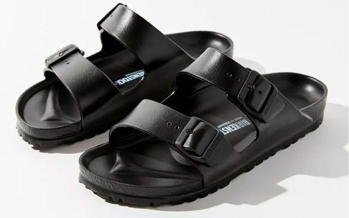 birkenstock, black sandals