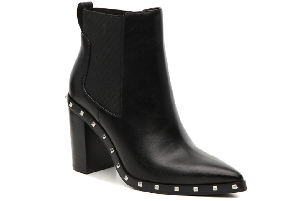best boots for fall 2020, studded boot, black studded boot