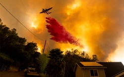 California Wildfires Napa County August 18