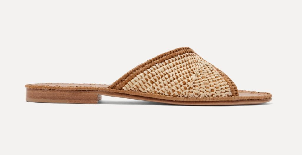 carrie forbes, raffia, raffia sandals, raffia trend, fall 2020 trend, summer 2020 shoe trend, fashion