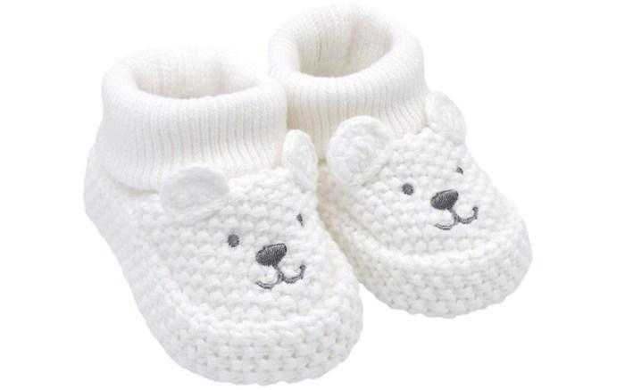 carter's crochet baby booties