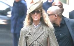 Celine Dion sighting in New York