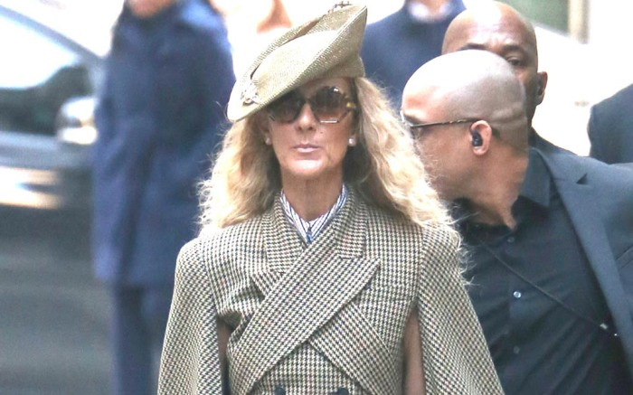 Celine Dion sighting in New York City