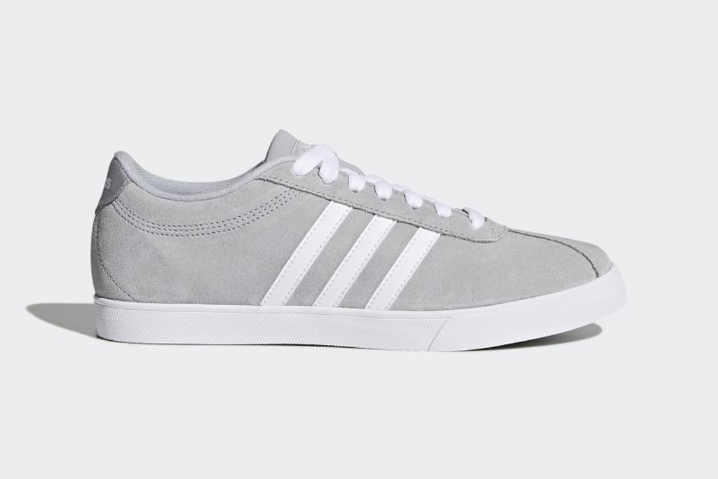 courtset shoe, grey sneaker, adidas