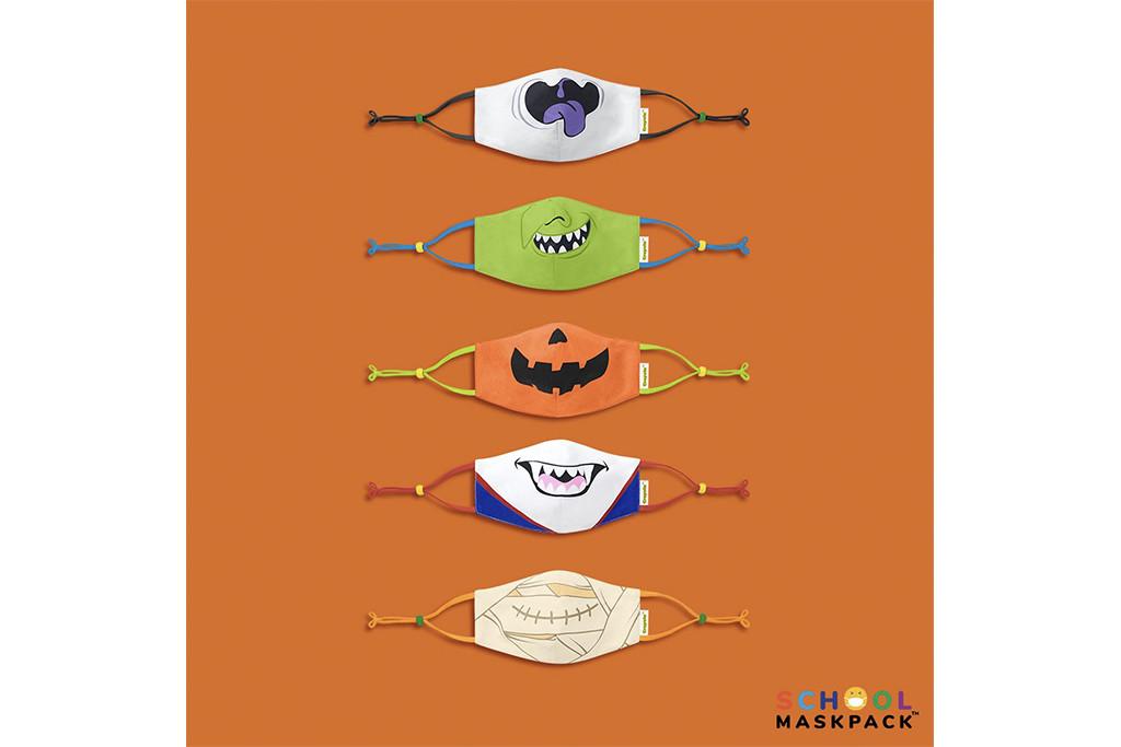 school mask pack x crayola, halloween masks, best masks for halloween.