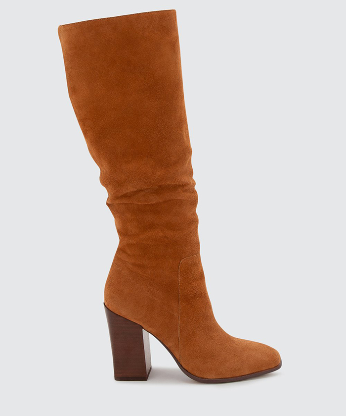 dolce vita, boots, brown, suede