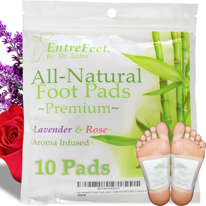dr. entre bamboo foot pads