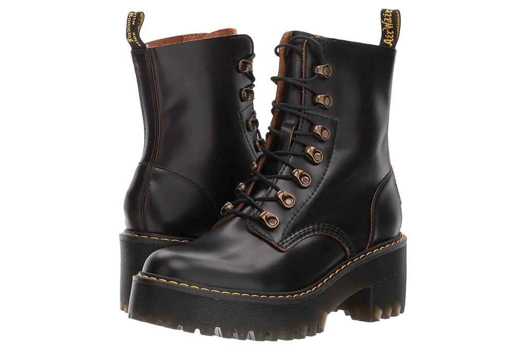 dr martens, doc martens, boots, combat boots, black, chunky, lug sole, platform