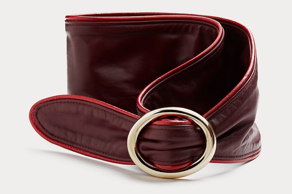 DVF sample sale, dvf belt, dvf accessories