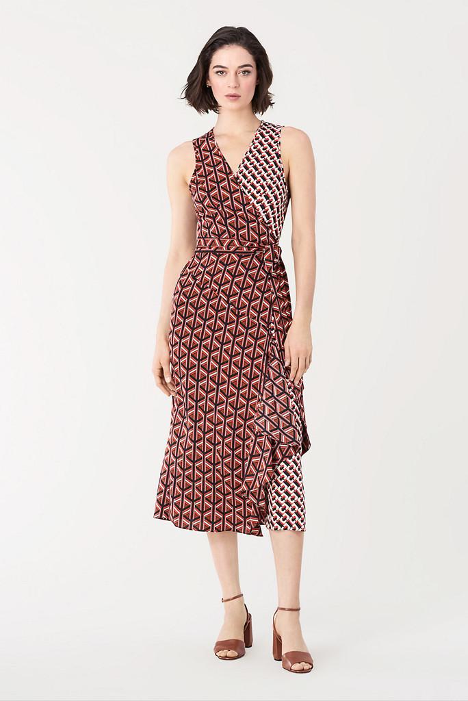 dvf sample sale, dvf wrap dress, dvf dress