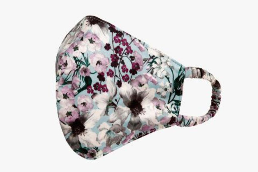 erdem floral face mask, erdem, face mask, floral face mask