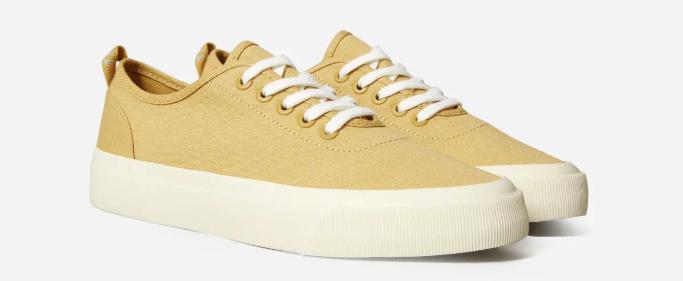 everlane-forever-sneaker-yellow