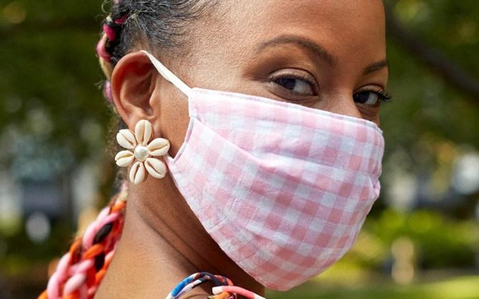 baublebar face mask, fashionable face masks, baublebar