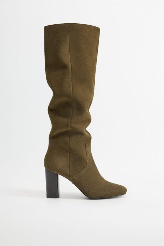 mango thigh high boot, fall 20 boots, best fall boots