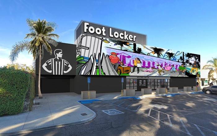 Foot Locker Power Store Compton California