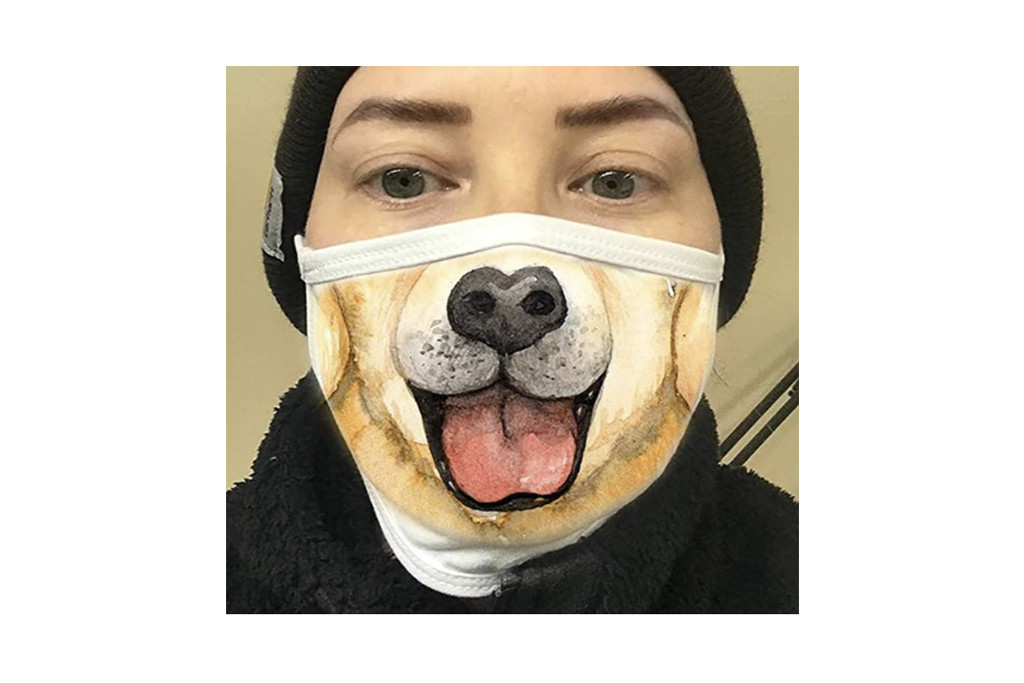 silly face mask, pet face mask, amazon