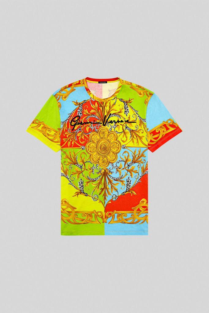 gianni versace, versace t-shirt, versace womens, versace kids, versace mommy and me, eva chen