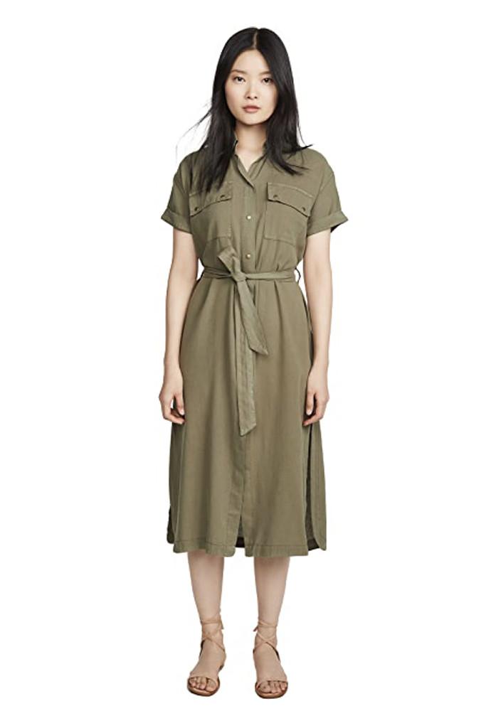 shopbop dress, green dress, meghan markle inspired dress