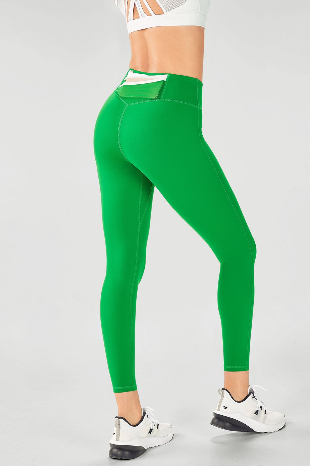 bright green, leggings
