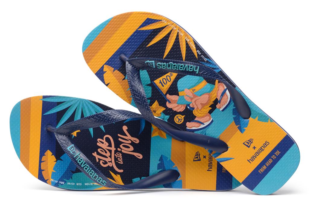 New Era, Havaianas, flip flops