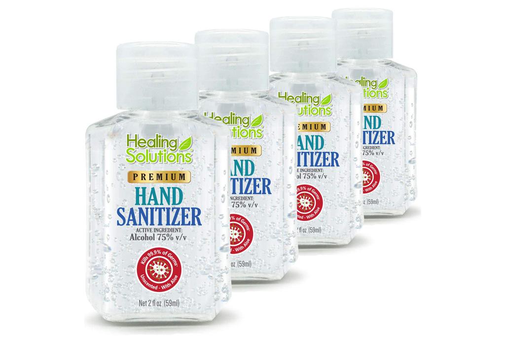 hand sanitizer, sale, amazon, shop, healing solutions