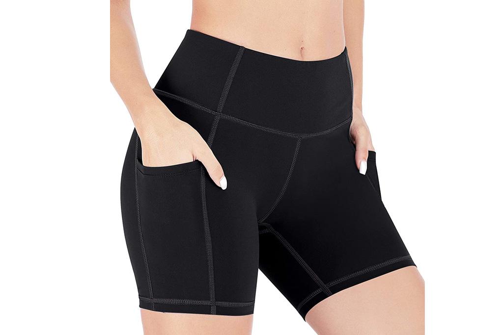 yoga shorts, best yoga shorts for women, biker shorts, shorts, amazon, healthyoga