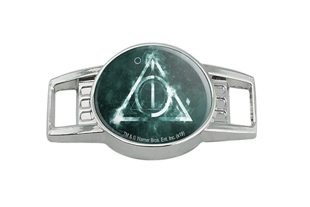 harry potter sneaker charm, deathly hollows sneaker charm, amazon