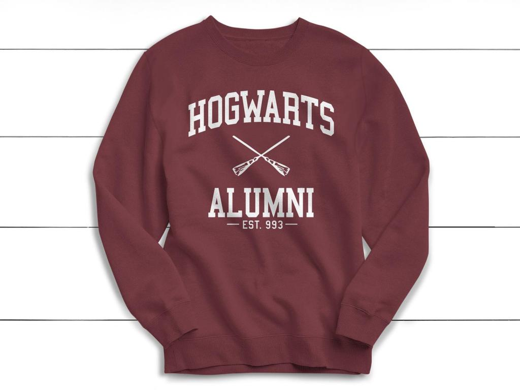etsy, hogwarts sweater, harry potter sweater