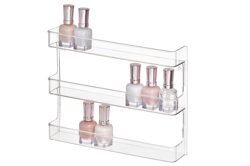 iDesign Clarity Nail Polish Rack