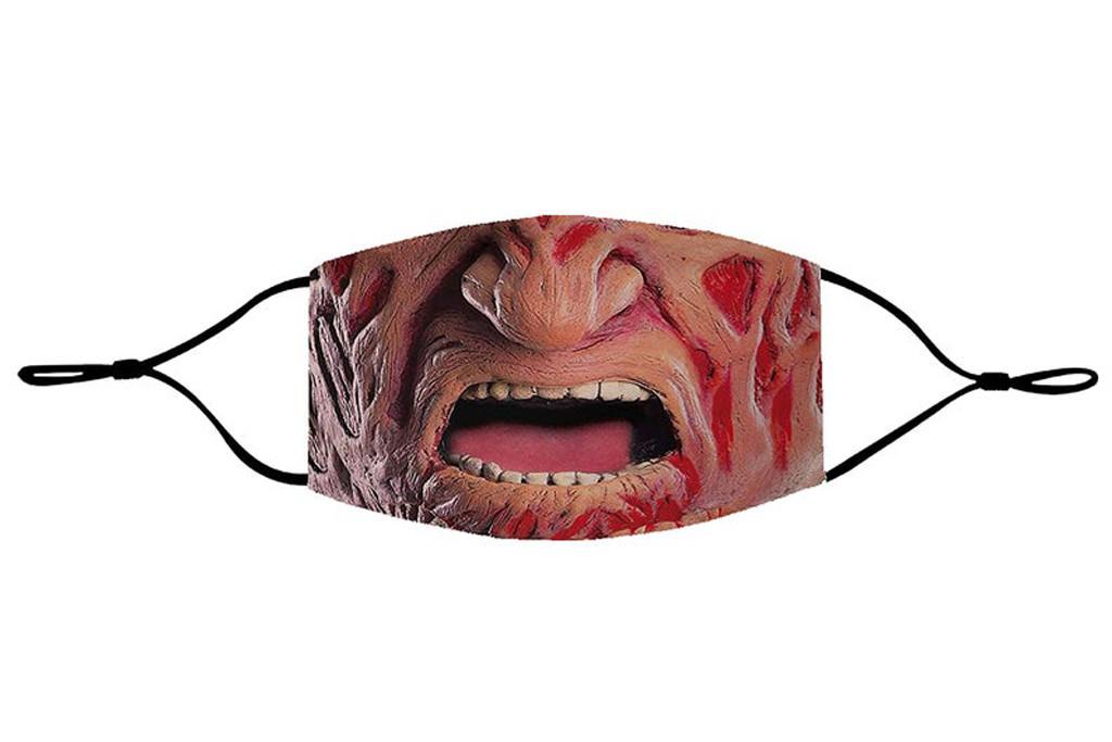 freddie kreuger face mask, etsy face mask, halloween face mask