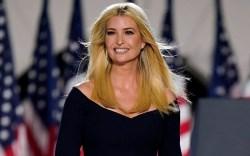 Ivanka Trump arrives to introduce President