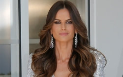 izabel goulart, style, dress, shoes, sandals,
